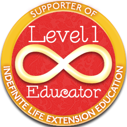 Level 1 Educator – Indefinite Life Extension Badge