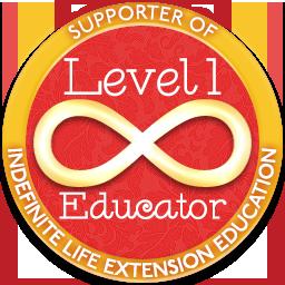 Level 1 Educator – Indefinite Life Extension Badge