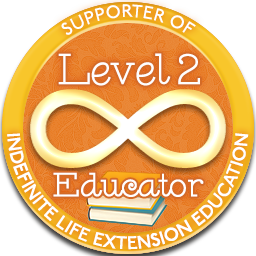 Level 2 Educator – Indefinite Life Extension Badge