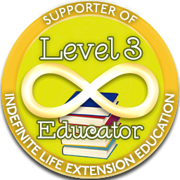 Level 3 Educator – Indefinite Life Extension Badge