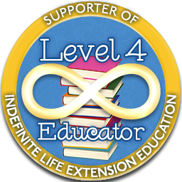 Level 4 Educator – Indefinite Life Extension Badge