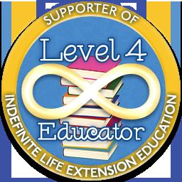 Level 4 Educator – Indefinite Life Extension Badge