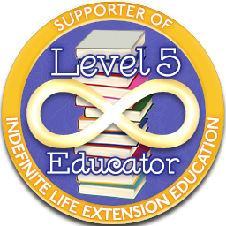 Level 5 Educator – Indefinite Life Extension Badge