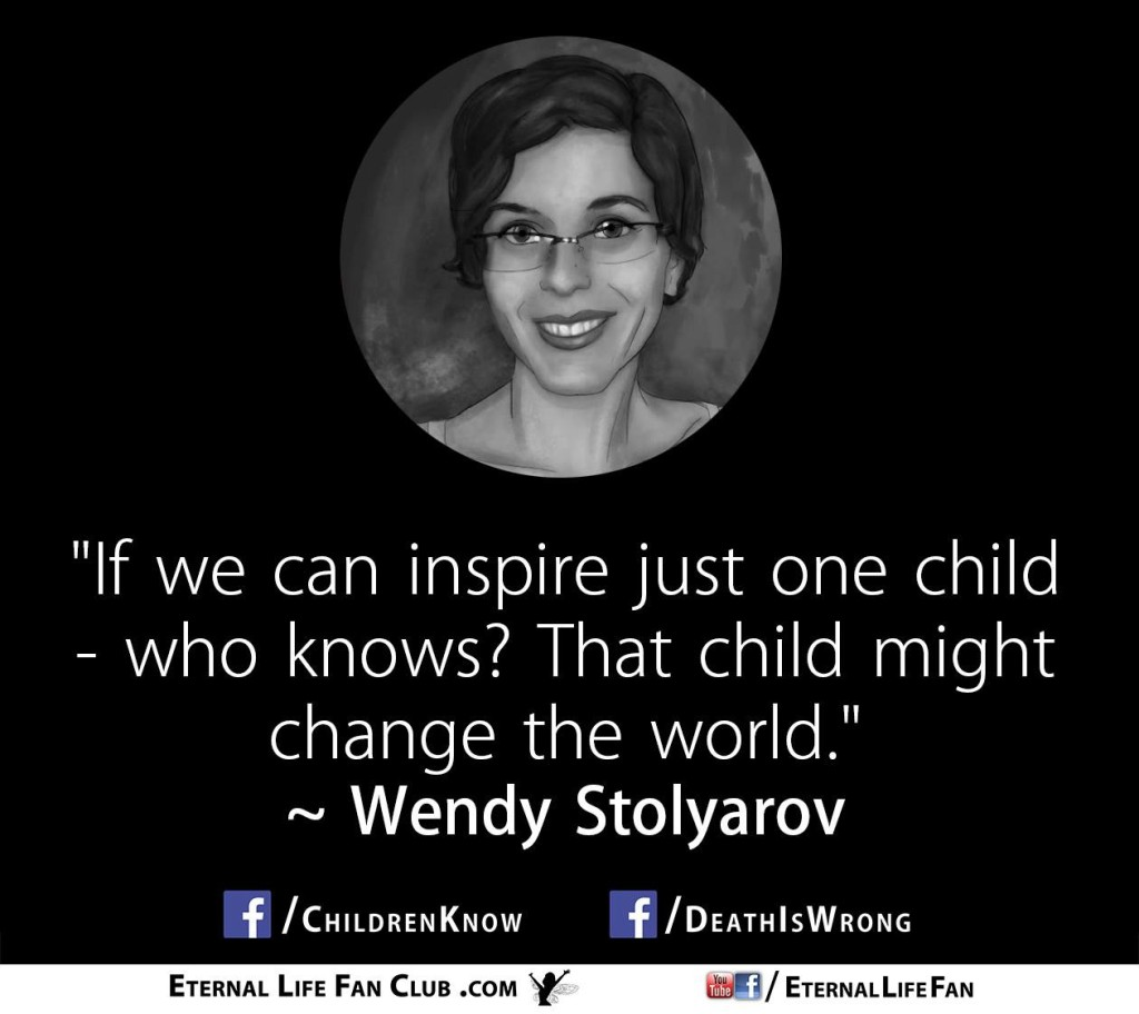Wendy_Inspire_One_Child_Quote