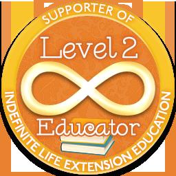 Level 2 Educator – Indefinite Life Extension Badge