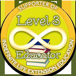 Level 3 Educator – Indefinite Life Extension Badge